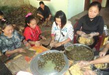 Chiếc bánh gai dẻo thơm xứ Dừa đã làm nên một nét văn hóa riêng trên vùng đất miền Tây Nghệ An.
