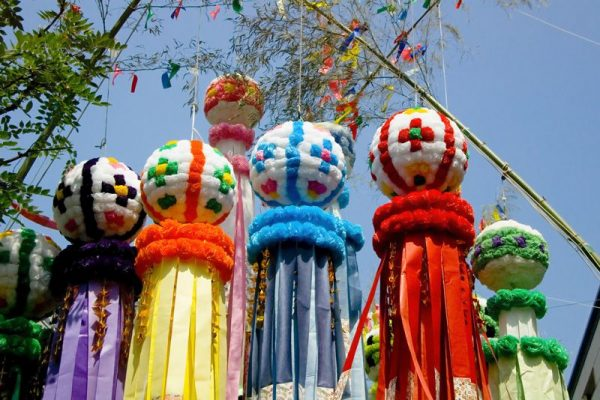 lễ hội tanabata tại Nhật Bản