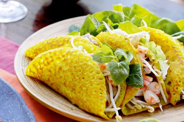 Bánh xèo Quảng Hòa Quảng Bình