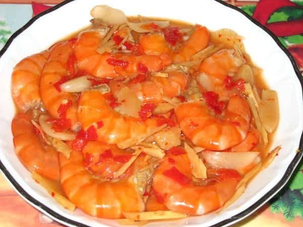 Đặc sản Tôm chua Bắc Kạn - món ăn mang hương vị núi rừng Việt Bắc