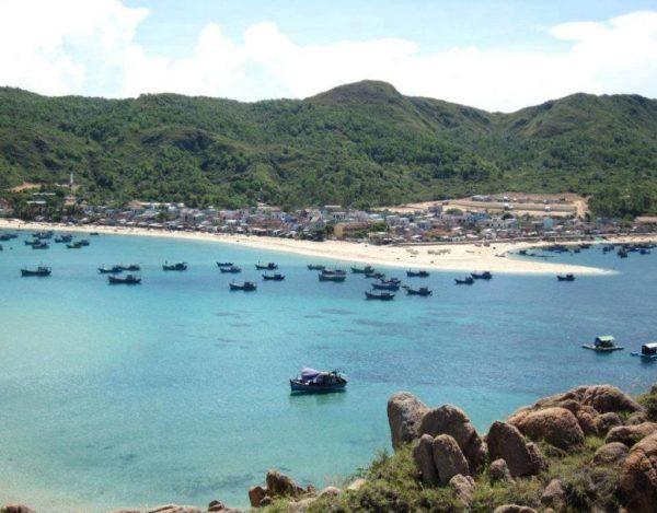 vẻ đẹp của đảo Hòn Khô