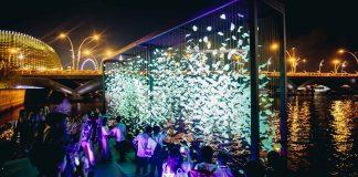 lễ hội i Light Marina Bay