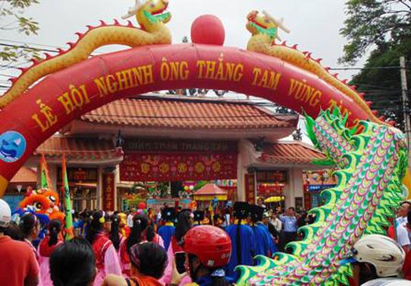 đặc sắc Lễ hội Nghinh Ông đình Thần Thắng Tam