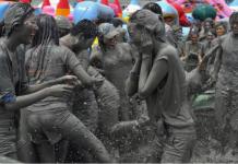 Lễ hộitắm bùn Boryeong