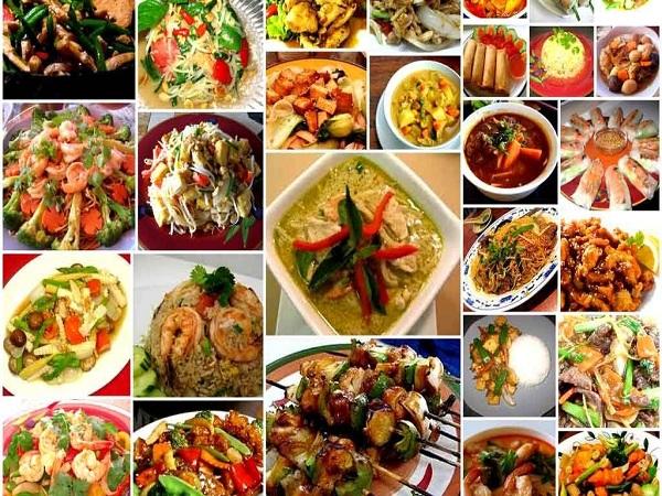 Đặc điểm chung của ẩm thực Thái Lan