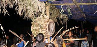 Lễ thức của Lễ hội đập trống