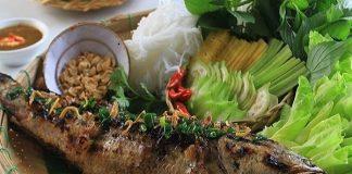 Cá lóc nướng trui - đặc sản trứ danh miền Tây Nam Bộ