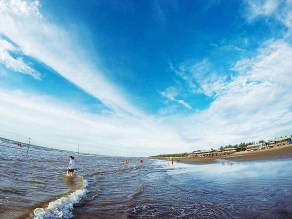 Biển Cồn Vành -điểm du lịch thái bình