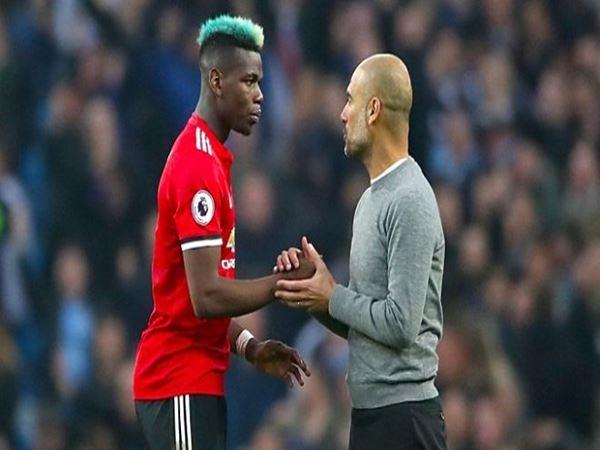 Pep phủ nhận City chiêu mộ Pogba.