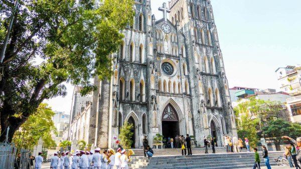 Các hoạt động tại Nhà thờ lớn hà nội