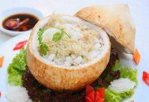Cơm dừa bến tre - đặc sản bến tre