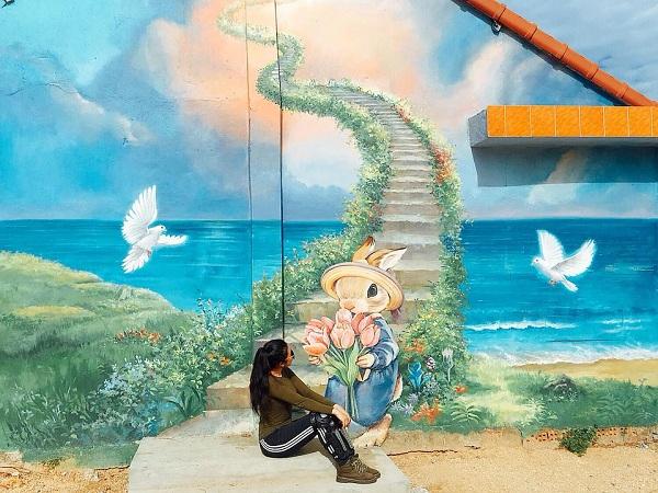 Làng bích họa Tam Thanh -địa điểm du lịch Quảng Nam