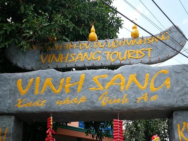 Khu du lịch Vinh Sang -địa điểm du lịch Vĩnh Long