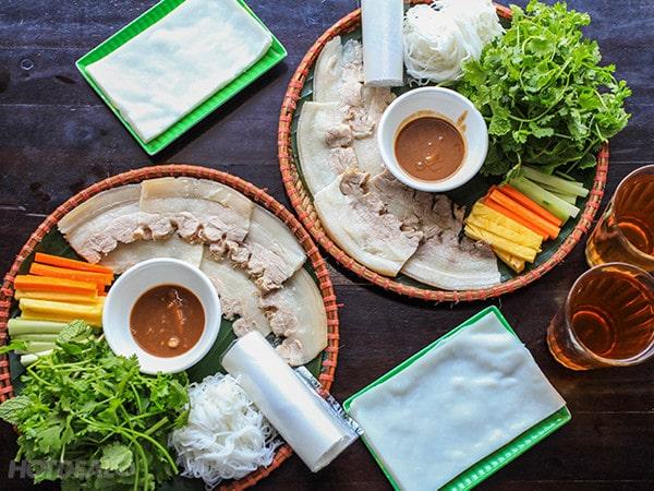 Cách làm bánh tráng cuốn thịt heo ngon chuẩn vị Đà Nẵng