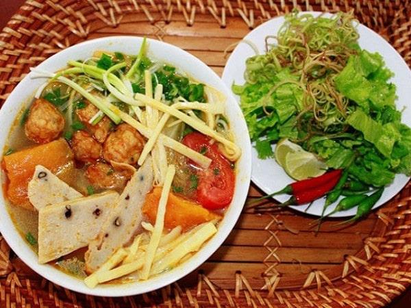 Bún chả cá Quy Nhơn - món ăn bình dị vùng đất võ