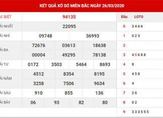 Phân tích KQXSMB 27/3/2020 - Thống kê XSMB thứ 6