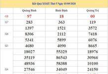 Phân tích KQXSMT 10/9/2020 chốt số miền Trung thứ 5 siêu chuẩn
