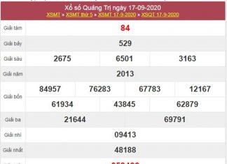 Phân tích XSQT 24/9/2020 chốt lô Quảng Trị cùng cao thủ