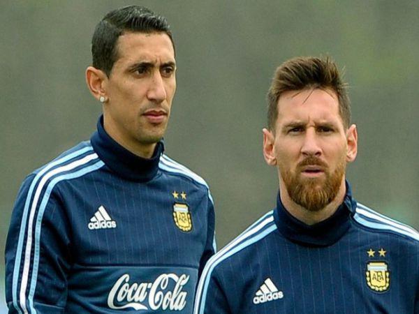 Tin bóng đá chiều 24/9: Di Maria từng lôi kéo Messi đến PSG