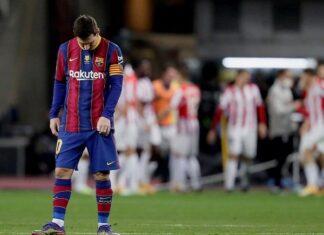 Bóng đá quốc tế chiều 18/1: Messi nhận thẻ đỏ đầu tiên trong màu áo Barca