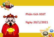 Phân tích XSST 20/1/2021