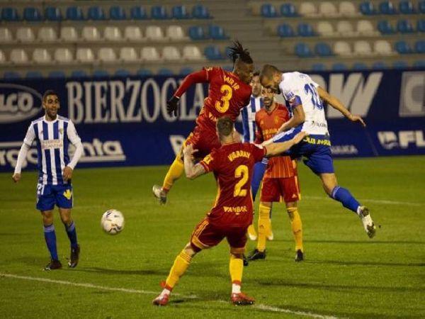 Soi kèo Zaragoza vs Ponferradina, 03h00 ngày 30/1 - Hạng 2 Tây Ban Nha