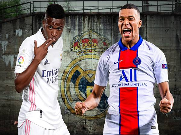 Bóng đá QT 10/4: Real Madrid cược Vinicius Junior để ký Mbappe