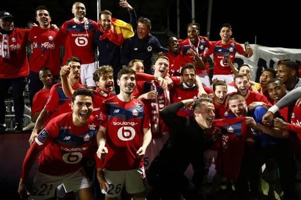 Chào đón tân vương Lille của giải vô địch Pháp