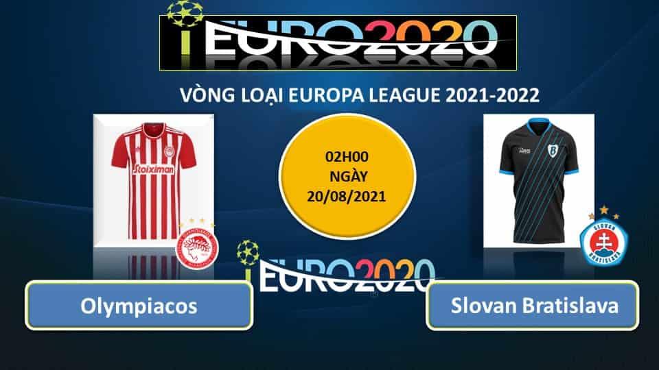 Nhận định, soi kèo Olympiakos vs Slovan Bratislava, 2h ngày 20/08