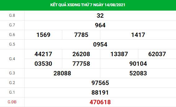 Phân tích XSDNG ngày 18/8/2021 hôm nay thứ 4 chính xác
